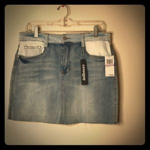 Dollhouse Jean Mini Skirt